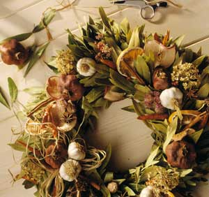 Dried Herb Wreath
