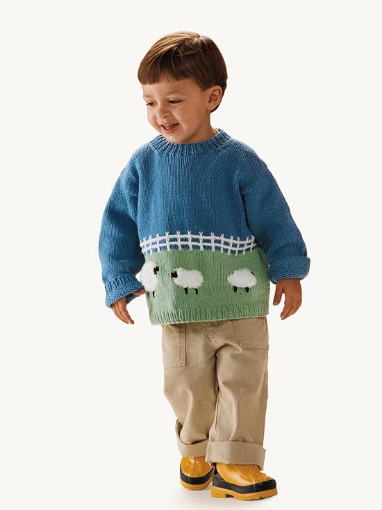 Fluffy Sheep Sweater