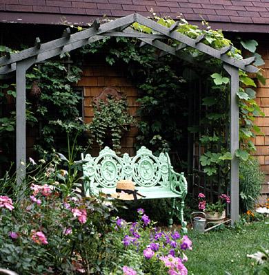 Pergolas arbors trellises simple garden arbor solutioingenieria Images