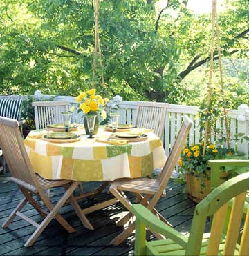 Deck Planters with Trellis