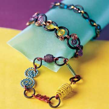 Beading: Wild Wire Bracelet