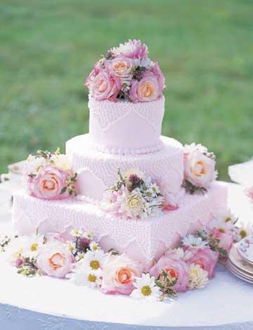 Sentimental Reason Wedding Cake