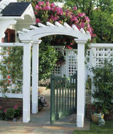 Arched Arbor