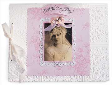 Vintage Wedding Album
