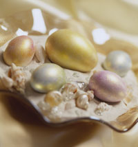 Pearlized Easter Eggs