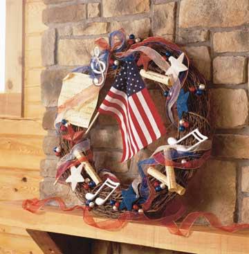 Musical Tribute Wreath
