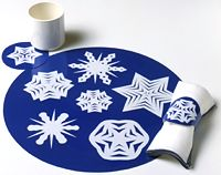Snowflake Table Setting