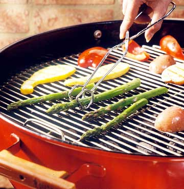 Direct-Grilling Vegetables