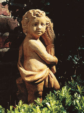 Add an Aged Look to Garden Ornaments