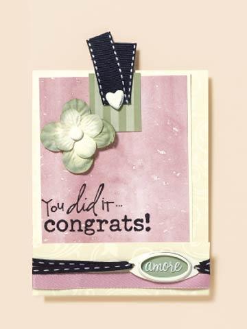 Congrats! Wedding Card