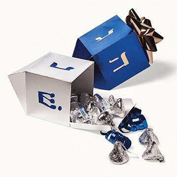 Dreidel Gift Box