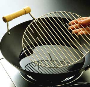 Make Sure The Wires In A Steamer Rack Are Close Enough So That Food Does Not Slip Through