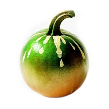 Paint-Drip Pumpkin
