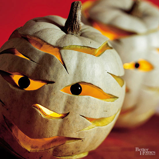 Mr. Mummy Pumpkin