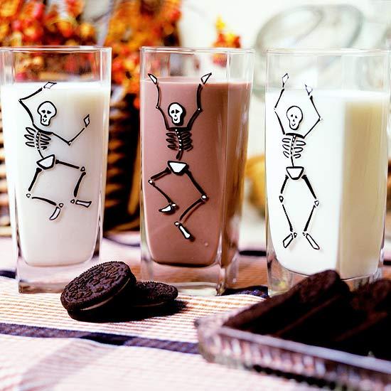 Halloween Bones Tumblers