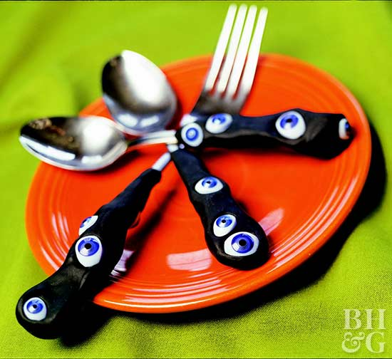 Halloween Eyeball Silverware