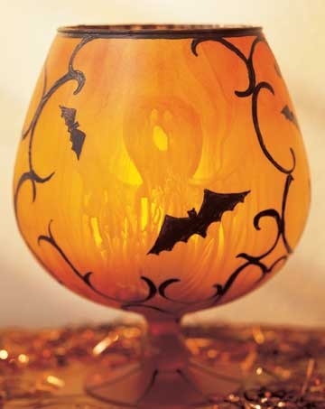 Howls and Owls Candleholder