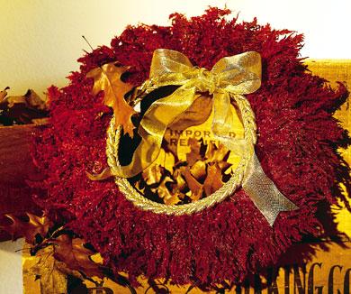 Autumn-Red Wreath