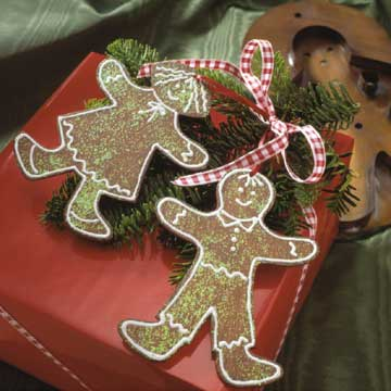 Faux Gingerbread Friends