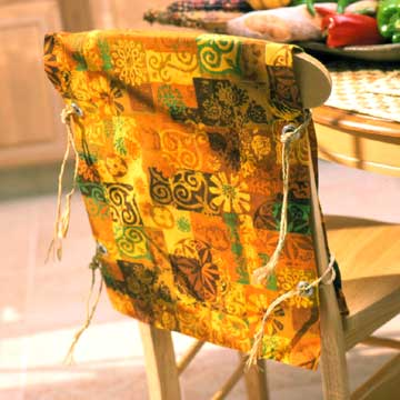 Kwanzaa Chair Slipcover