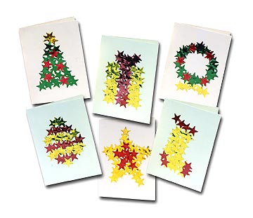 Holiday Star Christmas Cards