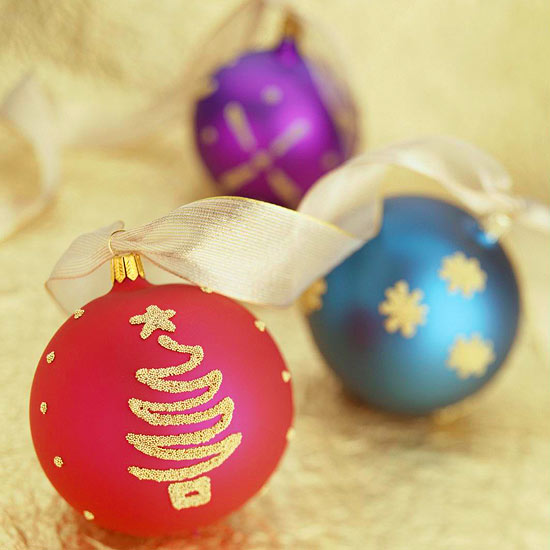 Dazzling Beads Christmas Ornament