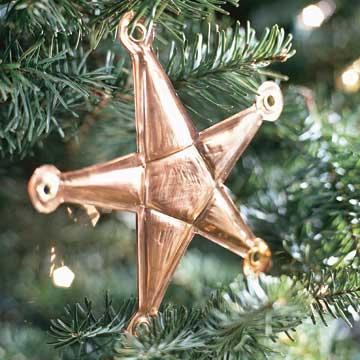 Shiny Copper Star