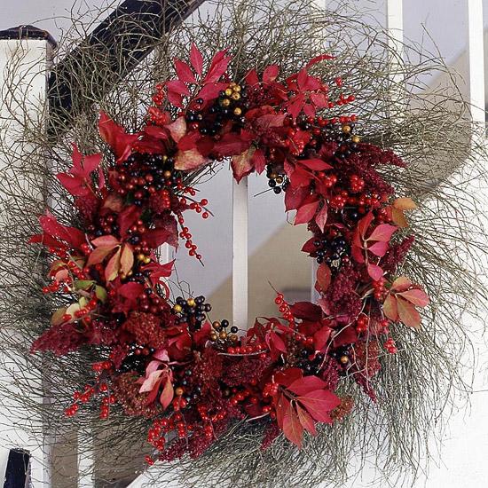 Huckleberry Wreath