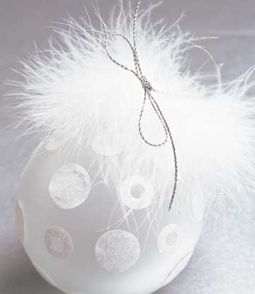 Feathered Ornament