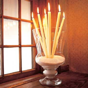 Candle Bouquet