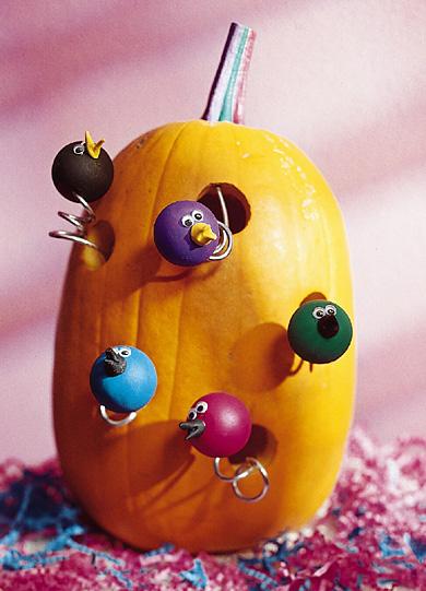 Birdhouse Pumpkin