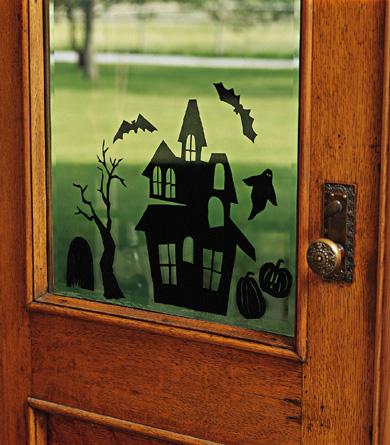 Spooky Window Scene