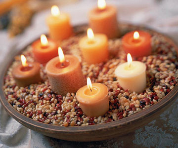 Autumn Candleholders