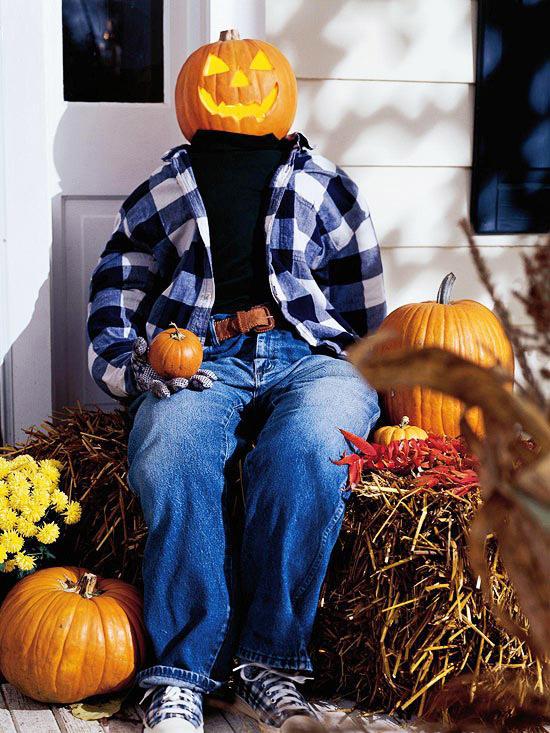 Pumpkin Door Greeter