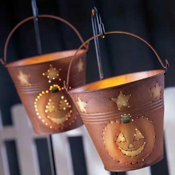Bucket Luminarias