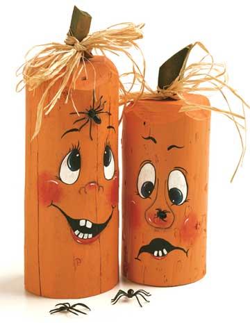Fence-Post Pumpkins
