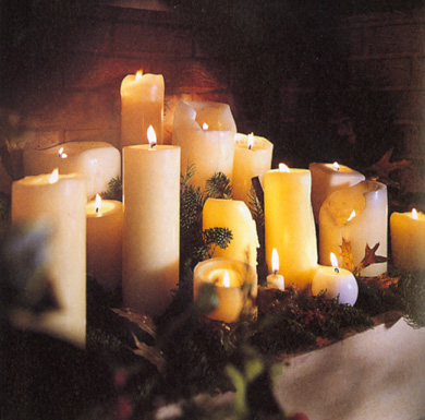 Eye-Catching Candle Displays
