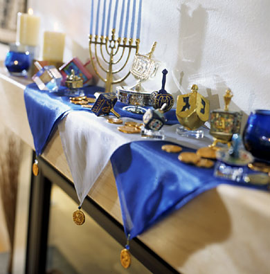 Handmade Hanukkah Decorations