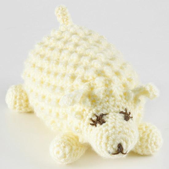 Stuffed Lamb Toy