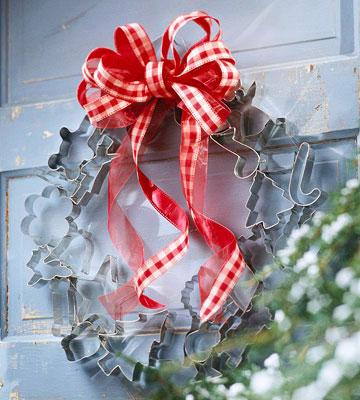 Cookie Cutter Wreath