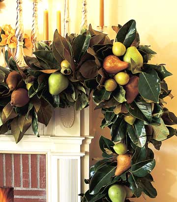 Fireplace Wreath