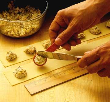 Preparing Ravioli