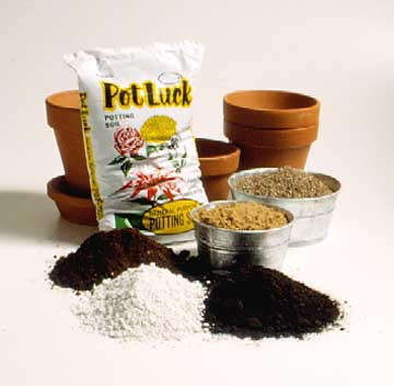 Potting Mix and Soil Substitutes