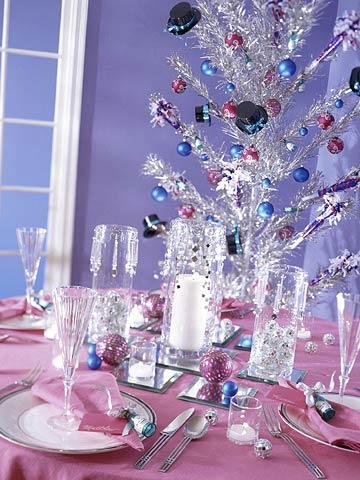 new years decorating
