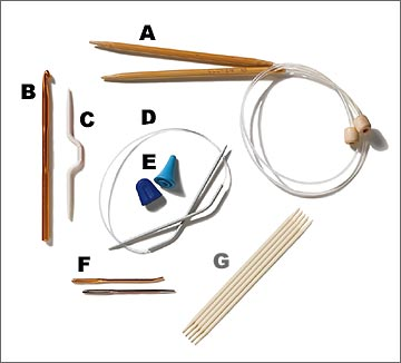 A Basic Knitting Toolkit