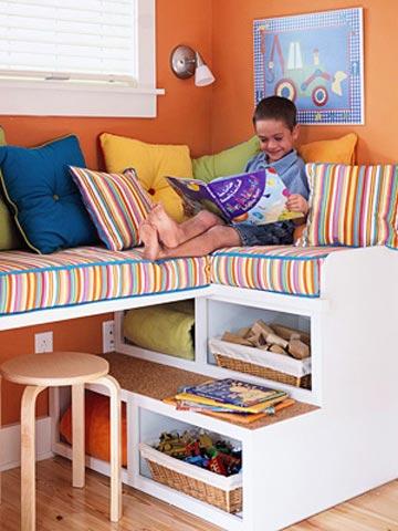 Kids' Room Window Seat