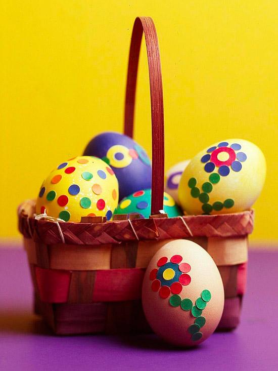 Polka-Dot Eggs
