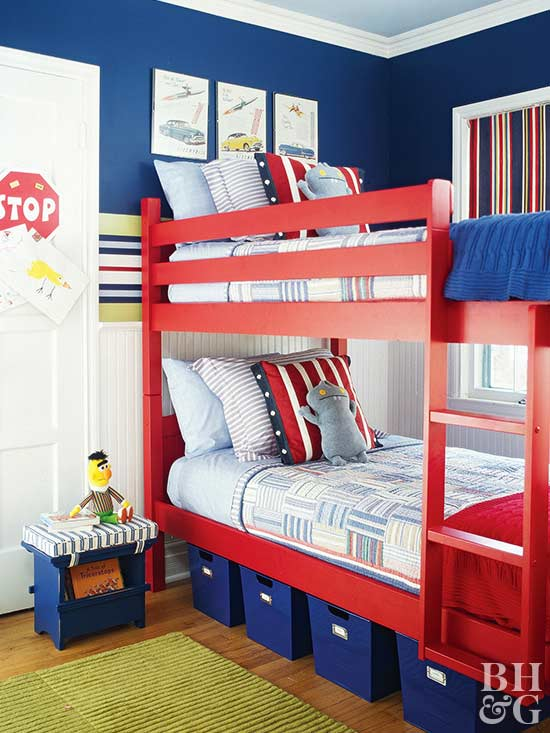 Shared spaces bedrooms for two kids 5 year old boy room decoration