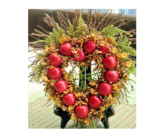 Miniature Apple Wreath