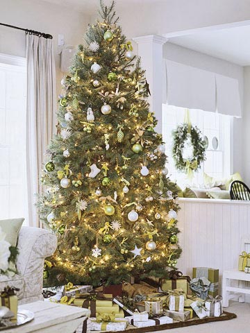 christmas tree theme ideas from better homes amp gardens